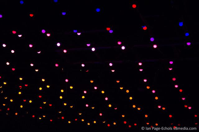AudioPixel ceiling LEDs