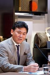 楽天株式会社の三木谷社長