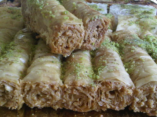 cashew baklava fingers - photo by Susie Wyshak