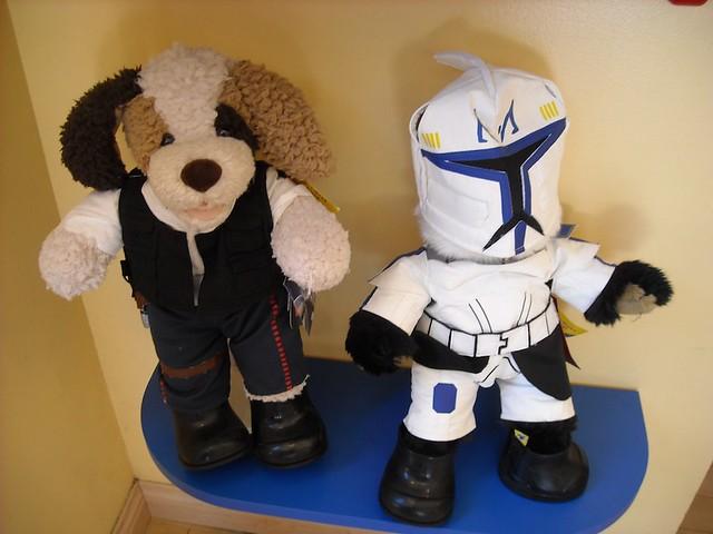 War Bears Build-a-bear Star Wars Product