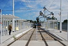 Aménagement du terminus de tram au plateau du Heizel (Brussels)