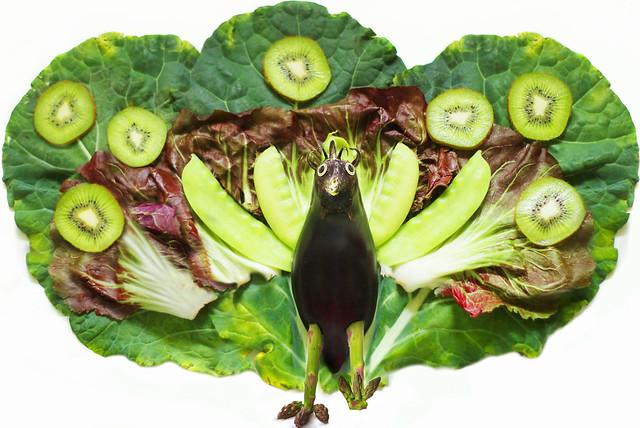 Veggie Peacock