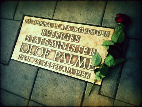 Sveavägen, Olof Palme