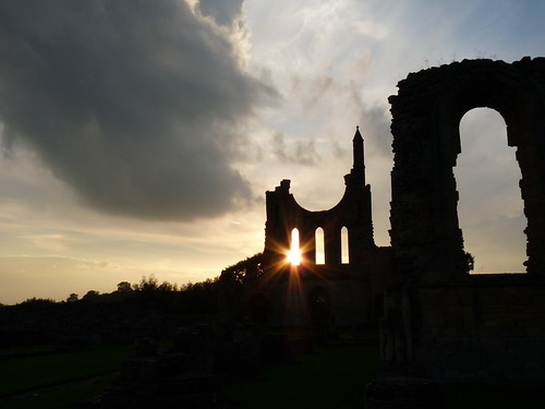 Sunset over the Abbey II
