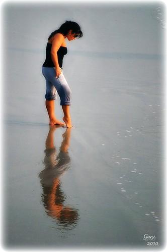morning reflection beach sunrise surf florida jacksonvillebeach mywinners