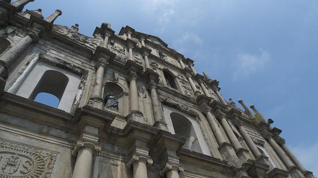 聖ポール天主堂跡(大三巴牌坊) Ruins of St Paul