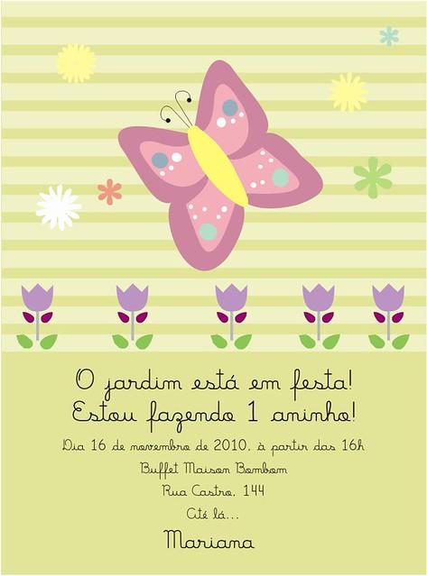 imagens de jardim encantado para convites:CONVITE DE ANIVERSARIO – JARDIM ENCANTADO