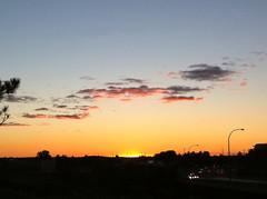 Sunset off the Hunt Club bridge
