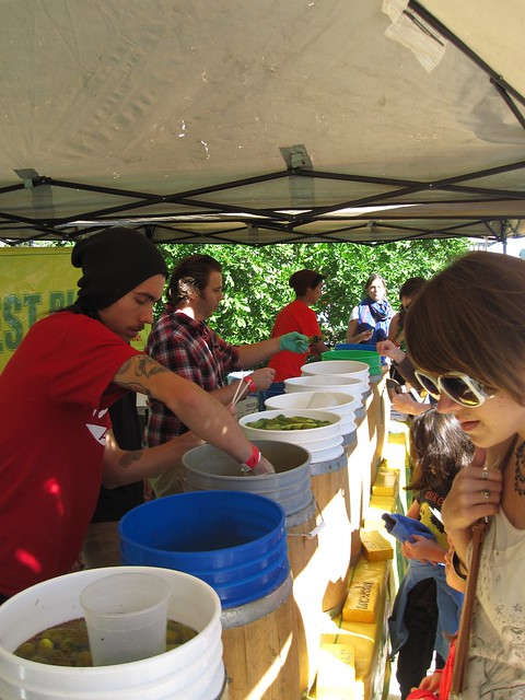 Horman's Best Pickles at Chile Pepper Fiesta 2010. Photo by Dave Allen.