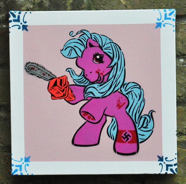 My Little Pony chainsaw edition Have you ever wondered what happened to