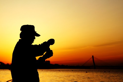 china red sky silhouette yellow sunrise canon eos rebel fishing shenyang xti 400d