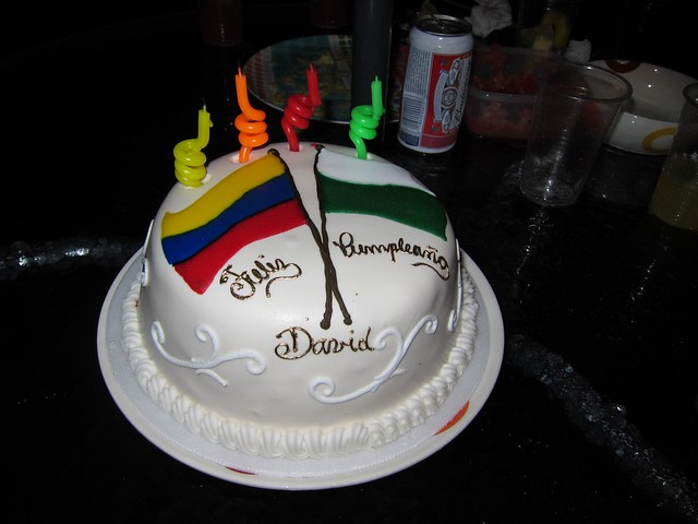 Traditional Colombian birthday cake