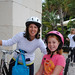 'Bike Your Child to School' Day 2010