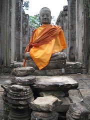 carving, art, ancient history, temple, sculpture, monument, monk, gautama buddha, sitting, statue,