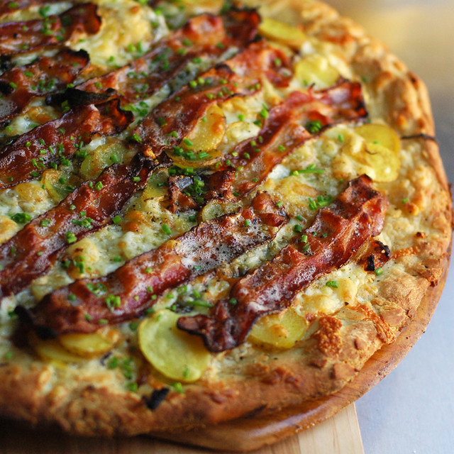 Baked Potato Pizza! | Flickr - Photo Sharing!