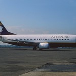 Air Nauru Boeing 737-400; C2-RN10, August 1994/ AFK