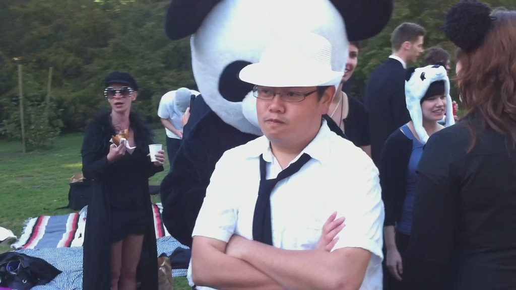 Angry pandas of the Doughboy Meadow