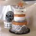 Halloween double layer cake box.......