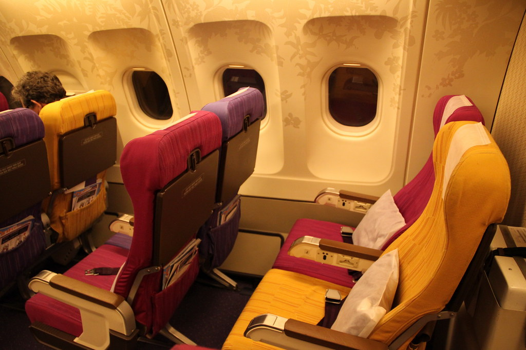 Thai Airways cabin interior