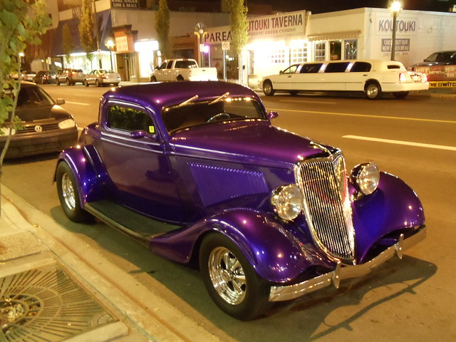 Old Purple Car (Front)