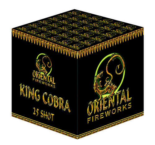 Epic Fireworks: King Cobra