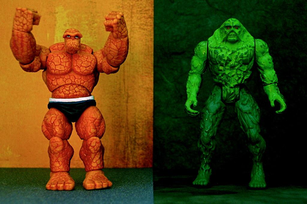 Thing vs. Swamp Thing (284/365)