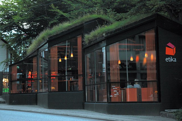 The only sushi restaurant in Torshavn, Faroes