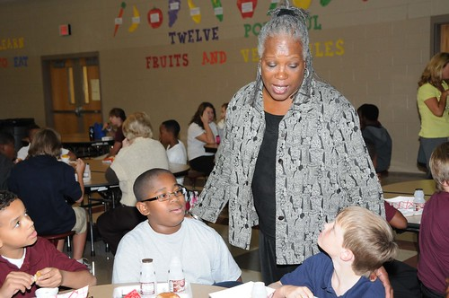 USDA Food and Nutrition Service Administrator Audrey Rowe wants to make sure that children and teens have access to healthy meals in and out of school.