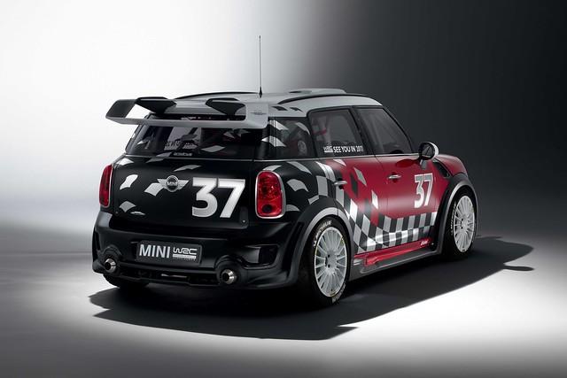 MINI WRC rear 3Q