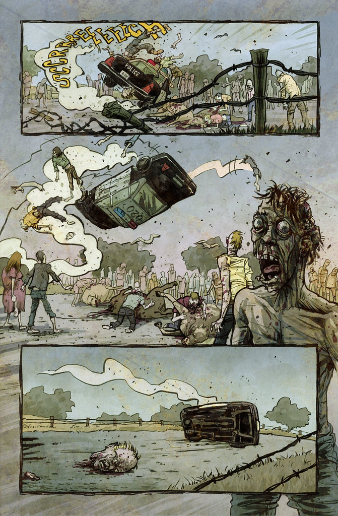 Countdown to Extinction page 2 illustrated by Anthony Peruzzo