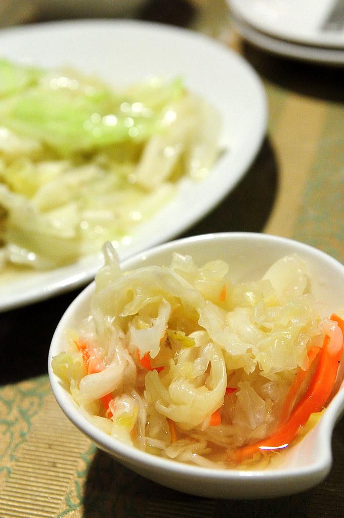 常青廬-招待泡菜