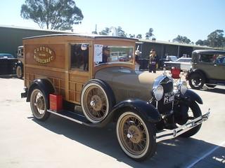 1929 Ford Model A panel van