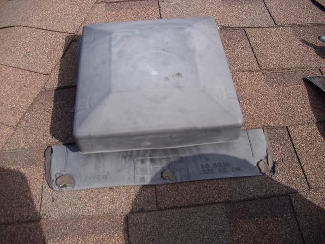 Attic vent leak repair mr roof repair flickr photo - Roof air vent leaking water ...