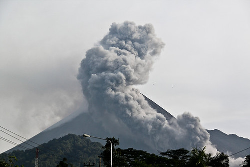 The Eruption of Gunung Merapi