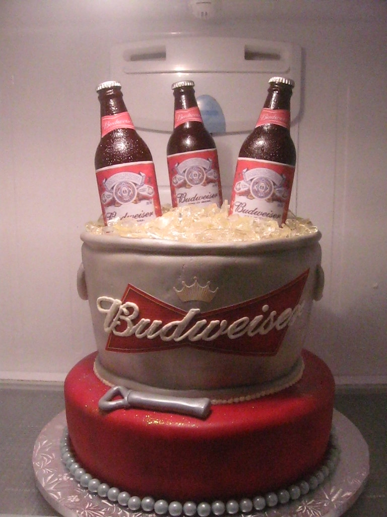 Budweiser cake flickr photo sharing - Budweiser beer pictures ...