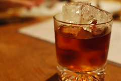 tea(0.0), old fashioned(0.0), food(0.0), negroni(0.0), whisky(1.0), distilled beverage(1.0), liqueur(1.0), drink(1.0), cuba libre(1.0), cocktail(1.0), sazerac(1.0), alcoholic beverage(1.0),