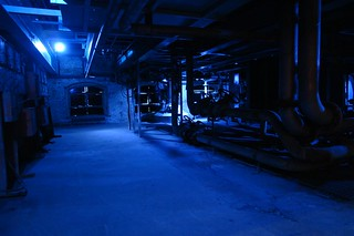 Interior de la vieja fábrica Guinness en Dublin