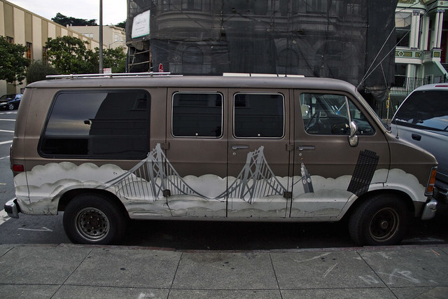 Bay Bridge Van, San Francisco (2010)