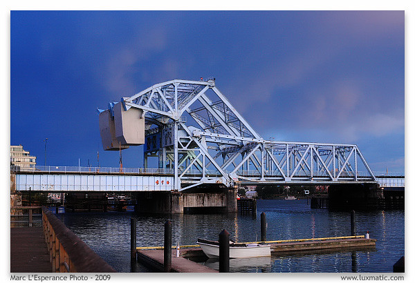 Johnson Street Bridge, Victoria BC.