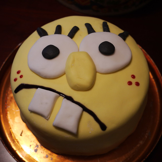 Spongebob Squarepants Cake Decorations