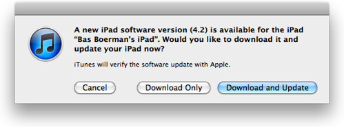 Downloading iOS 4.2
