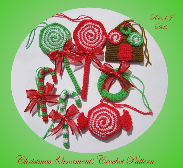CROCHET CHRISTMAS ORNAMENT COVERS - Crochet — Learn How to Crochet