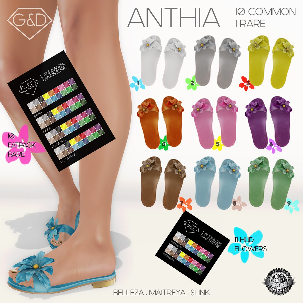 G&D Flats Anthia Gacha - SecondLifeHub.com