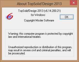 TopSolid 2013 x86 x64 full license