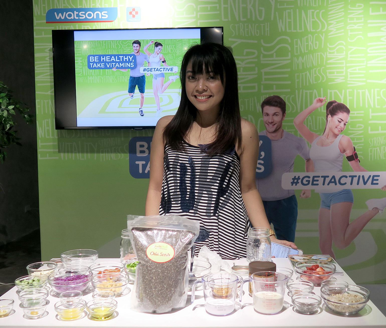 5 Watsons PH GetActive Campaign - She Sings Beauty by Gen-zel