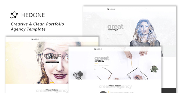 Hedone v1.1 – Creative & Clean Portfolio / Agency Template