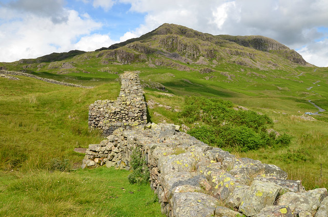 Hardknott Roman Fort (Mediobogdum), Lake District, UK