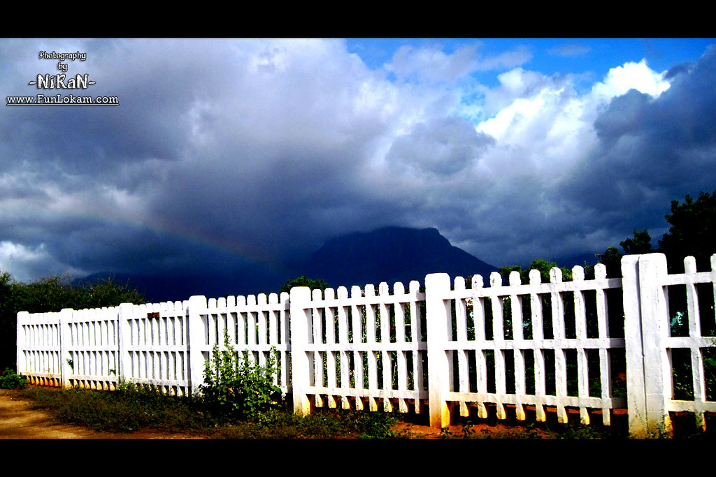 Did anyone notice the rainbow? Pic from Aralvaimozhi, Near Nagercoil, Tamil Nadu