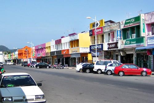 Kuan Town, Langkawi - Malaysia