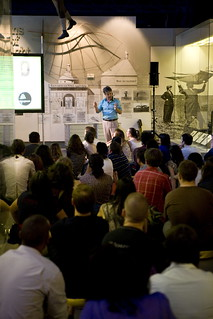 Professor Ayliffe at the Science Museum Lates [4]